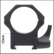 Oldható Gyűrűpár Picatinny  sínre /30mm /Magas / Contessa H 12mm