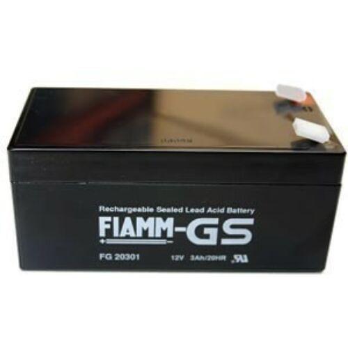 Akkumulátor FIAMM 12V, 3Ah zselés