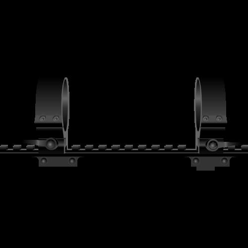 CZ 550 picatinny sínes szerelék/Contessa+QRW oldható gyűrű/Leupold