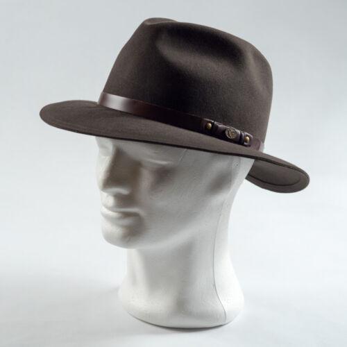 Tisza 'Indy' nyúlszőr kalap 106 zöld