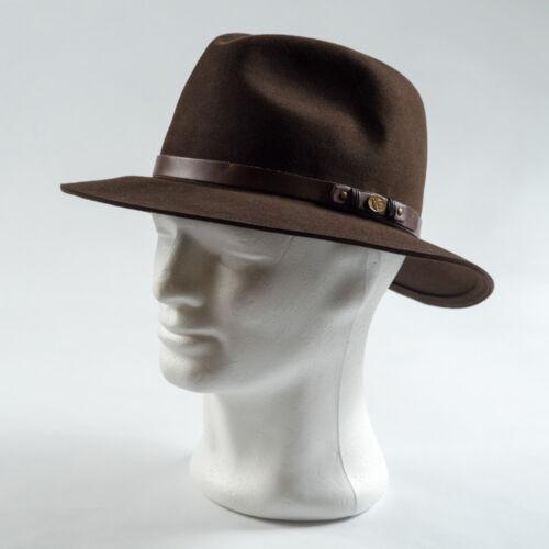 Tisza 'Indy' nyúlszőr kalap 106 barna