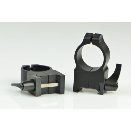 Oldható Gyűrűpár Weaver Sínre / Ultra Magas / 25,4mm/ WARNE MAXIMA 204LM