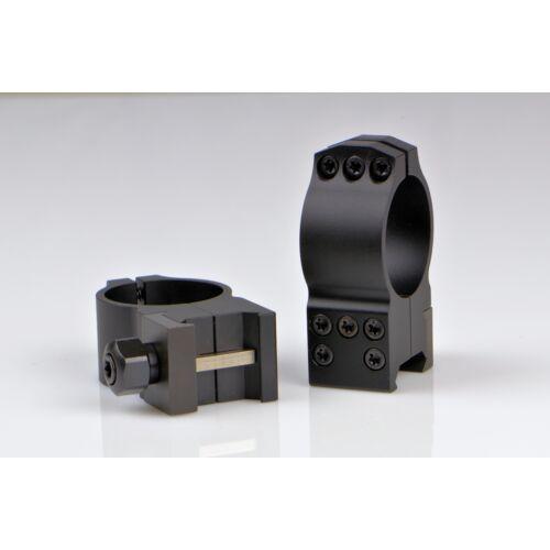 Oldható Taktikai Gyűrűpár Weaver Sínre / Ultra Magas / 30mm/ WARNE TACTICAL 617M