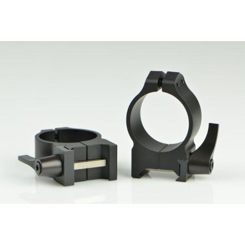 Oldható Gyűrűpár Weaver Sínre / Középmagas / 30mm/ WARNE MAXIMA 214LM