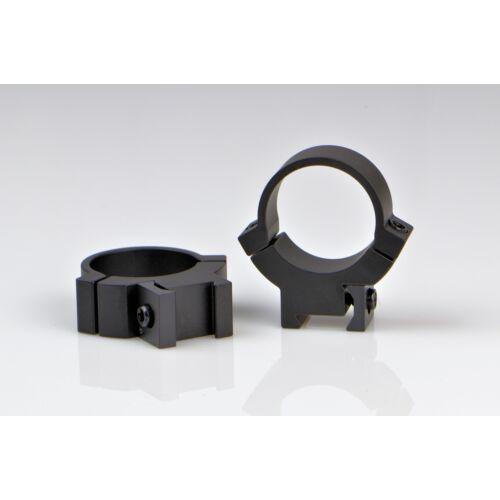 """Fix gyűrűpár  11-es prizmára 2 csavaros/középmagas / 1 """" / Warne 721M"""