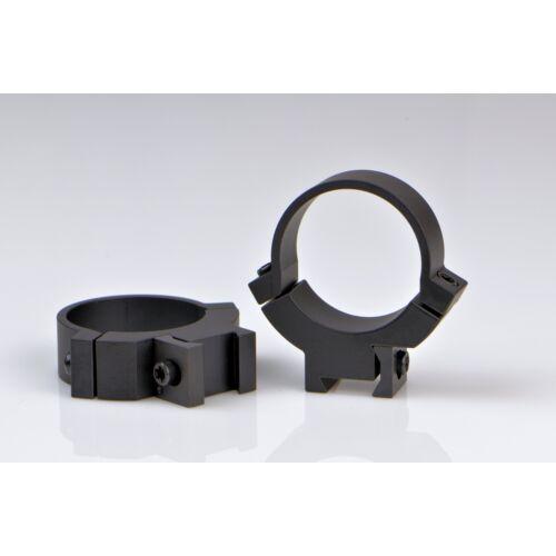 Fix gyűrűpár  11-es prizmára 2 csavaros/középmagas / 30mm / Warne 731M