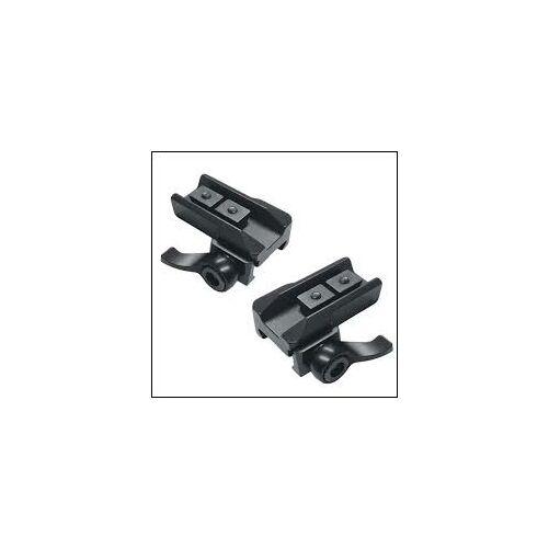 Recknagel Weaver szerelék Zeiss sínes 2db-os oldató Merkel  RX Helixhez 7mm Diarange  57545-0700 2db-os