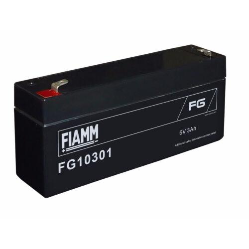Akkumulátor FIAMM 6V, 3Ah zselés