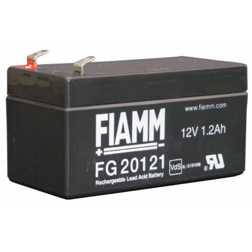 Akkumulátor FIAMM 12V, 1.2Ah , zselés