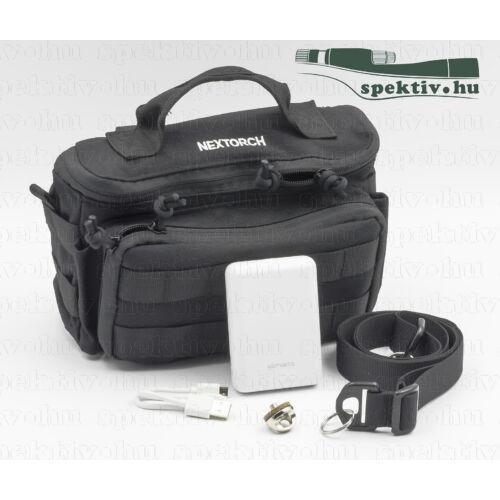 Hőkamera Praktikus Csomag ( Táska, nyakpánt, csavar, 10000 mAh Powerbank)