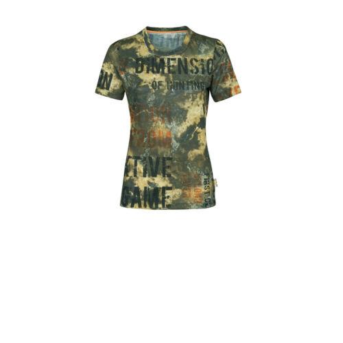 X-JAGD PRINT DEMORPHING Női rövid ujjú póló